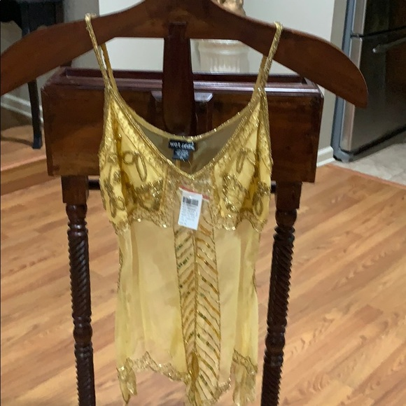 Wet Seal Tops - Sequence tank top